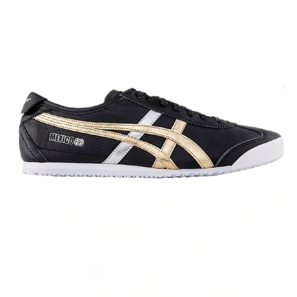 onitsuka tiger mexico 66 black and pink jacket golden
